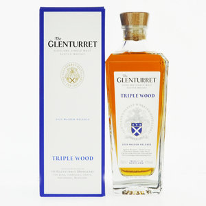 Glenturret Triple Wood Single Malt Scotch Whisky - 70cl, 43% vol.