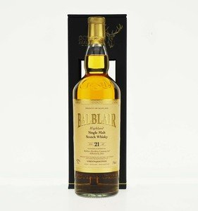 Gordon & MacPhail Balblair 21 Year Old Single Malt Scotch Whisky - 70cl, 43% vol.