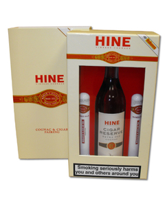 Hine Cognac and Romeo Cigars -