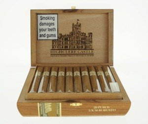 Highclere Castle Robusto Cigar - Box of 20