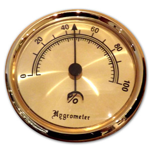Analogue Hygrometer - Large - 3 inch