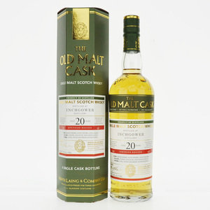 Inchgower 1997 Old Malt Cask 20 Year Old Single Malt Scotch Whisky - 70cl, 50%