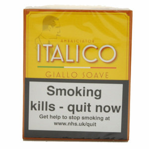 Italico Giallo Soave Cigars – Pack of 5