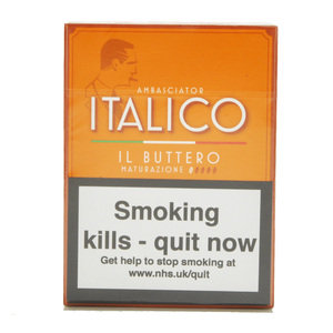Italico II Buttero Cigars – Pack of 5