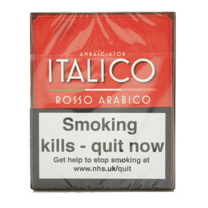 Italico Rosso Arabica Cigars – Pack of 5