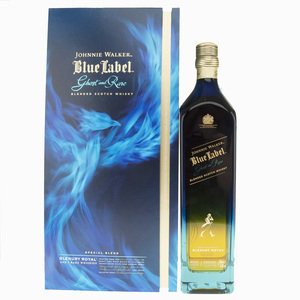 Johnnie Walker Blue Label Ghost and Rare Glenury Royal Blended Scotch Whisky - 70cl, 43.8%