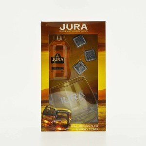 Jura 10 Year Old Miniature Gift Pack - Single Malt Scotch Whisky - 5cl, 40% vol.