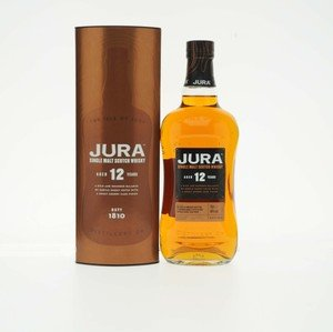 Jura 12 Year Old Single Malt Whisky 70cl abv 40%