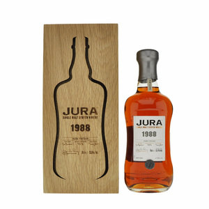 Jura 1988 Rare Vintage Single Malt Scotch Whisky - 70cl, 53.5%