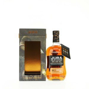 Jura 20 Year Old One and All Single Scotch Malt Whisky - 70cl, 51%