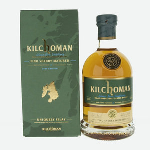 Kilchoman Fino Sherry Matured Single Malt Scotch Whisky - 70cl, 46%