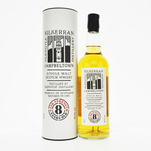 Kilkerran 8 Year Old Cask Strength Single Campbeltown Malt Scotch Whisky - 70cl, 56.5%