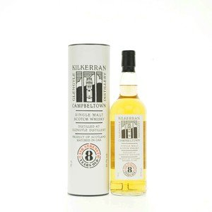 Kilkerran Single Malt Scotch Whisky 8 Year Old Cask Strength 56.2% Vol 70Cl