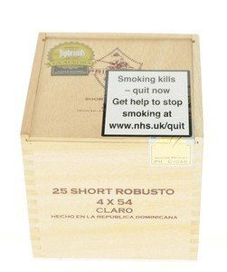 La Aurora Principes Long Filler Claro Sumo Short Robusto - Box of 25