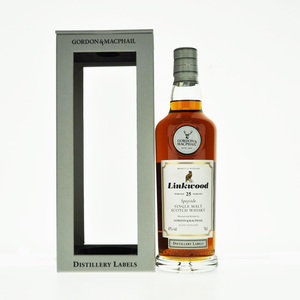 Linkwood 25 Years Old Gordon & MacPhail Single Malt Scotch Whisky - 70cl, 43% vol.