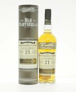 Loch Lomond 21 Year Old Douglas Laing Old Particular Single Grain Scotch Whisky - 70cl, 51.5% vol.