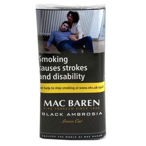 Mac Baren Black Ambrosia Pipe Tobacco - 40g