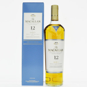 Macallan 12 Year Old Triple Cask Single Malt Scotch Whisky 40% Vol 70cl