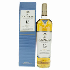 Macallan 12 Year Old Triple Cask Single Malt Scotch Whisky - 70cl, 40%