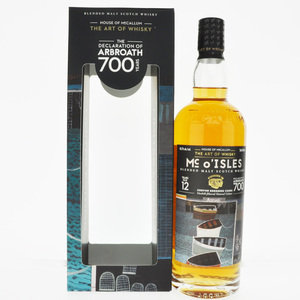 Mc o'Isles 2007 The Declaration of Arbroath 12 Year Old Blended Malt Scotch Whisky - 70cl, 46.2% vol.
