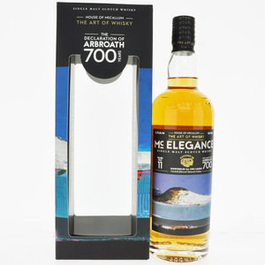 McElegance 2009 The Declaration of Arbroath 11 Year Old Single Malt Scotch Whisky - 70cl, 46.2% vol.
