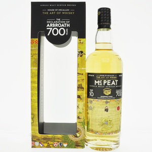 McPeat 2010 The Declaration of Arbroath 10 Year Old Single Malt Scotch Whisky - 70cl, 46.2% vol.