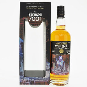 McPink 2013 The Declaration of Arbroath Blended Scotch Whisky - 70cl, 46.2% vol.