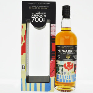 McWarrior 2008 The Declaration of Arbroath 12 Year Old Single Malt Scotch Whisky - 70cl, 46.2% vol.