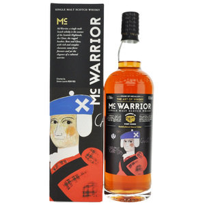 McWarrior Single Malt Scotch Whisky - 70cl, 43.5% vol.