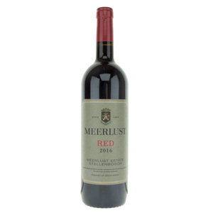 Meerlust Red 2016 - 75cl, 14.0% vol.