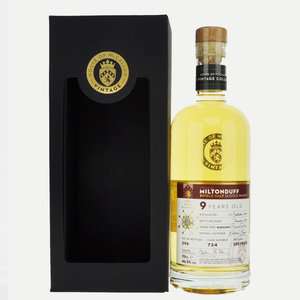 Miltonduff 9 Year Old House of McCallum Vintage Single Malt Scotch Whisky - 70cl, 46.5% vol.