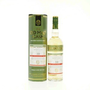 Mortlach Old Malt Cask 10 Year Old Hunter Laing Single Malt Scotch Whisky - 70cl, 50%