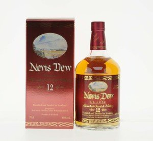 Nevis Dew 12 Year Old Blended Scotch Whisky - 70cl, 40% vol.