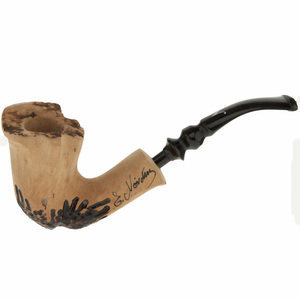 Nording Signature Smooth Black Grain Hand Made Pipe (NORSR)