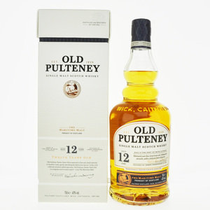 Old Pulteney 12 Year Old Single Malt Scotch Whisky - 70cl, 40%