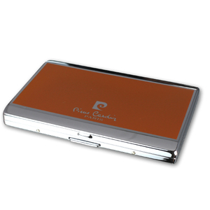 Pierre Cardin Small Cigarette Case - Orange