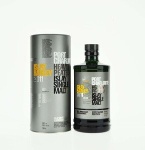 Port Charlotte Heavily Peated Islay Barley 2011 Single Malt Scotch Whisky - 70cl, 50% Vol