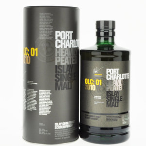 Port Charlotte OLC:01 2010 Single Malt Scotch Whisky - 70cl, 55.1% Vol.