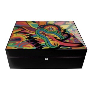 Pre-Sale: The Plumed Serpent Humidor - 125 cigars