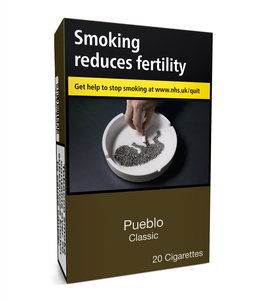 Pueblo Additive free Cigarettes - Pack of 20 - Classic