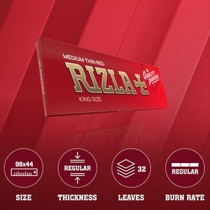 Rizla Red King Size Rolling Papers - 1 pack