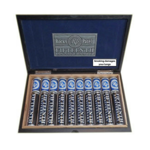 Rocky Patel - 15th Anniversary - Deluxe Toro Tube Cigar - Box of