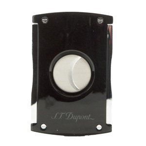 ST Dupont Cigar Cutter - MaxiJet - Lacquered Black As Night