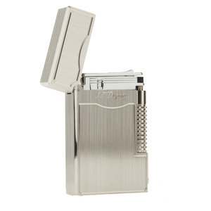 ST Dupont Lighter Ligne 2 Le Grand - Brushed Palladium - 023014