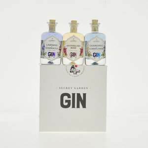 Secret Garden Gin - 3 x 4cl, 39% vol.