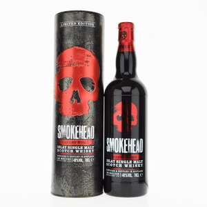 Smokehead Sherry Bomb Single Islay Malt Scotch Whisky - 70cl, 48% vol.