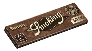 Smoking Brown Medium 1 1/4 Size Rolling Papers