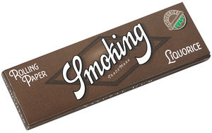 Smoking Liquorice Regular Size Rolling Papers