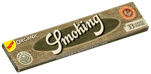 Smoking Organic King Size Rolling Papers