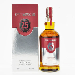 Springbank 25 Years Old Single Malt Scotch Whisky - 2019 Limited Edition - 70cl, 46% vol.